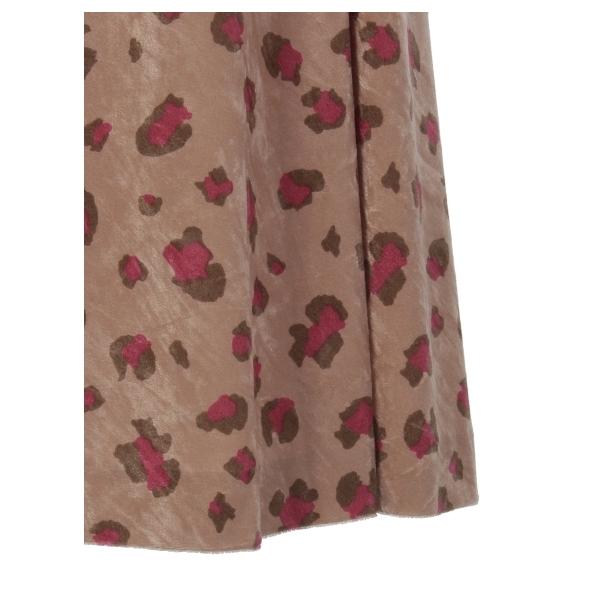 ベロアプリントジャンパースカート