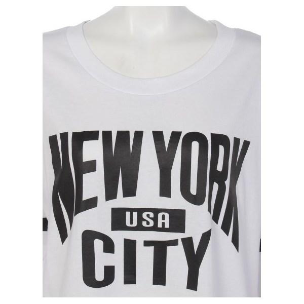 ニューヨーク丈長Tシャツ
