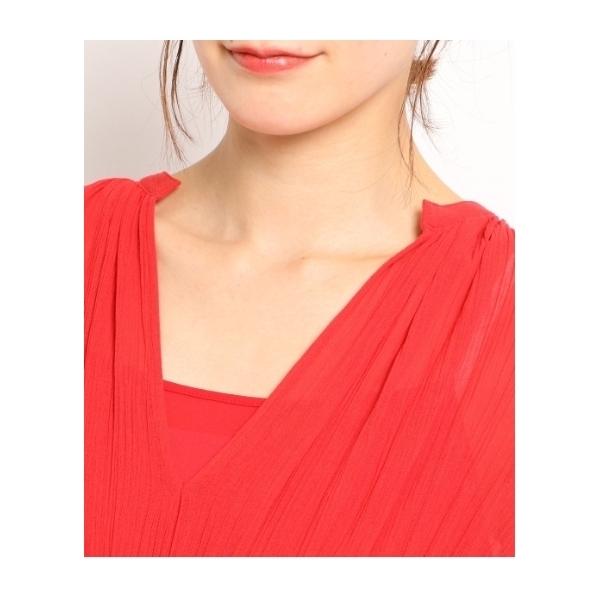 シアークレープドレス