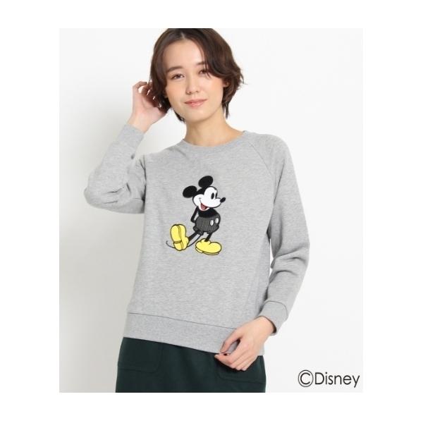 刺繍スウェット(ミッキーマウス)