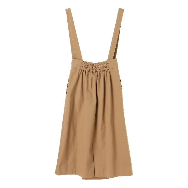 ・サス付きラップナロースカート