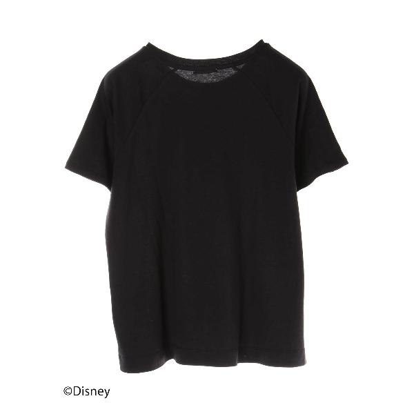 ・Mickey/earthパールショルダーTシャツ