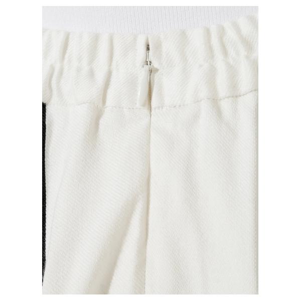 モールストライプスカート
