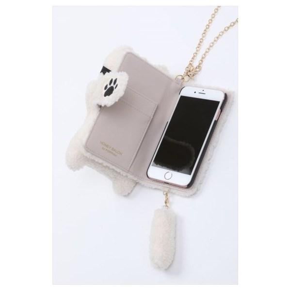 catアイマスクiPhoneケース
