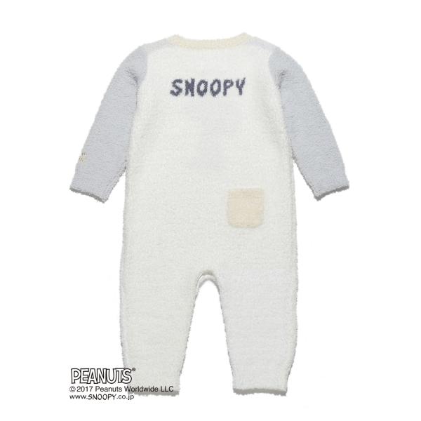 【PEANUTS】ジャガード baby ロンパース
