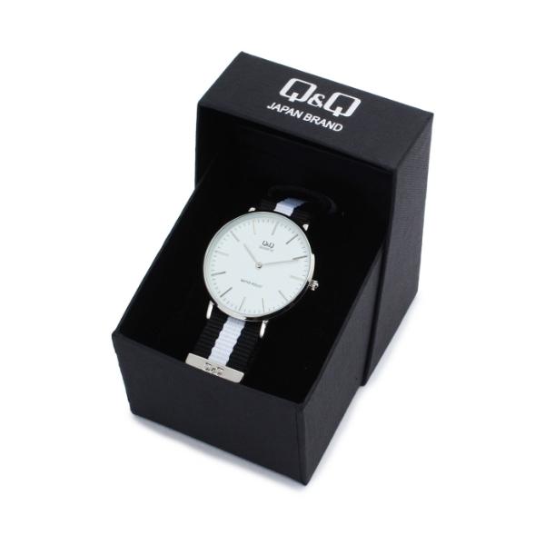 【WEB限定あり】Q&Qセンターラインバンド腕時計