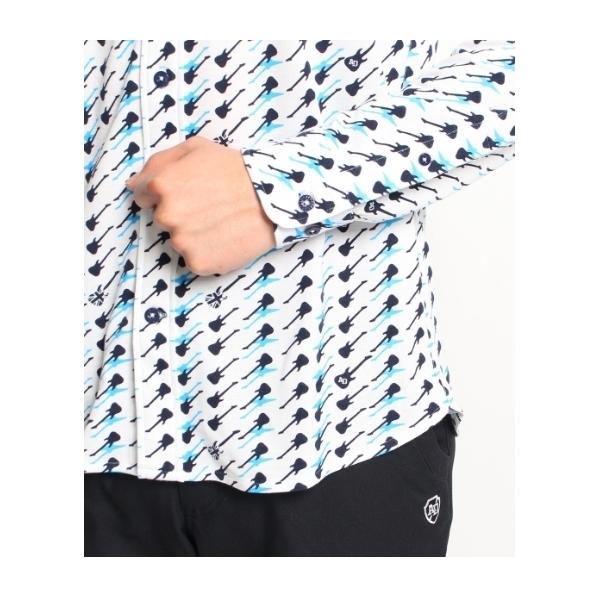 ブリティッシュプリントカノコシャツ