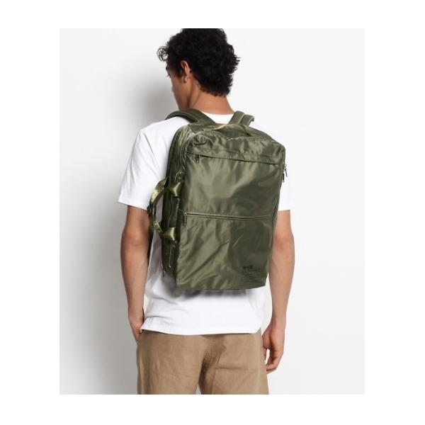 【ユニセックス】スクエア2WAYバッグパック