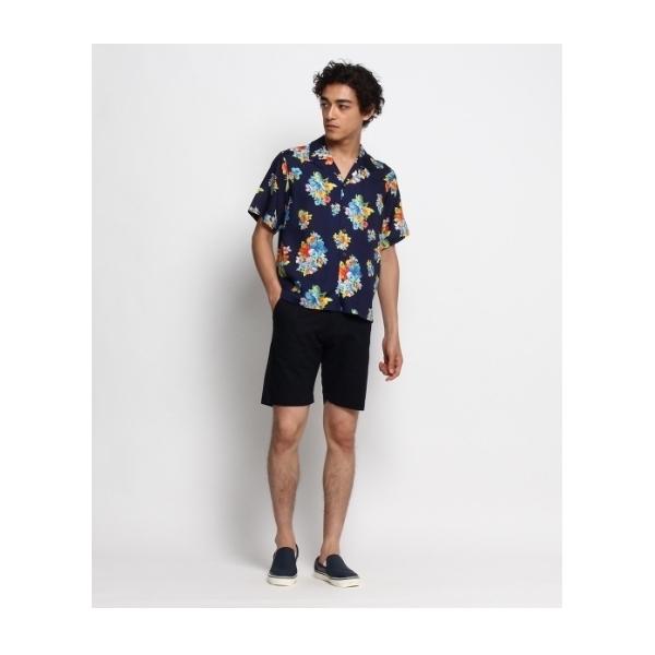 アロハプリントシャツ
