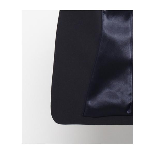 一つ釦ストレッチテーラードジャケット