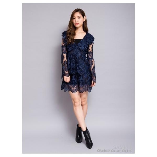 レースミニワンピース[DRESS/ドレス]