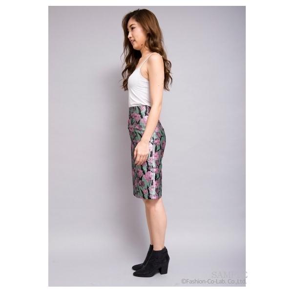 フラワータイトスカート[DRESS/ドレス]