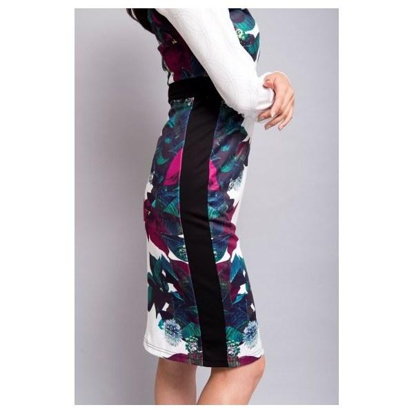 サイドフラワーワンピース[DRESS/ドレス]