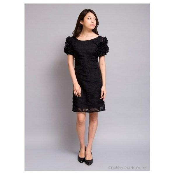 ボリュームスリーブワンピース[DRESS/ドレス]