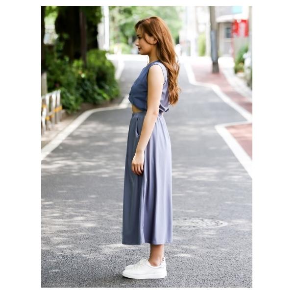 ラメロゴジャージワンピース[DRESS/ドレス]