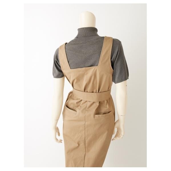 ベルト付ジャンパースカート
