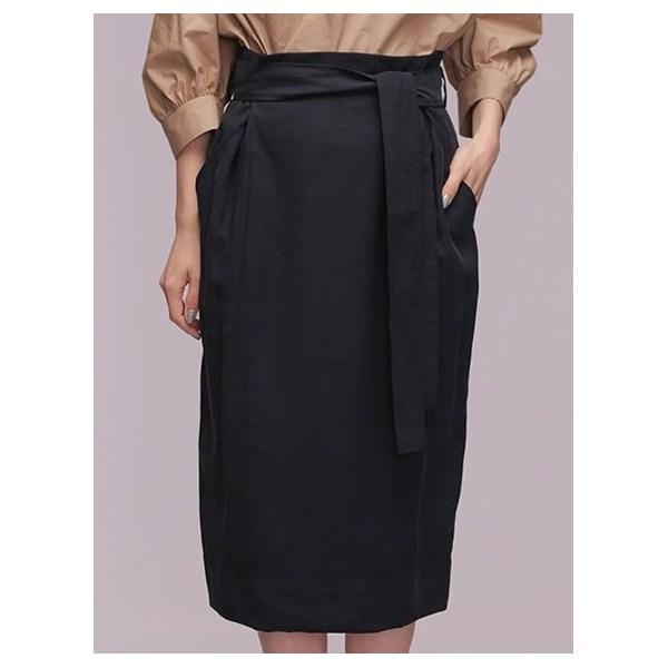 ハイウエストセミタイトスカート