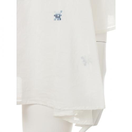 ペザント刺繍ブラウス