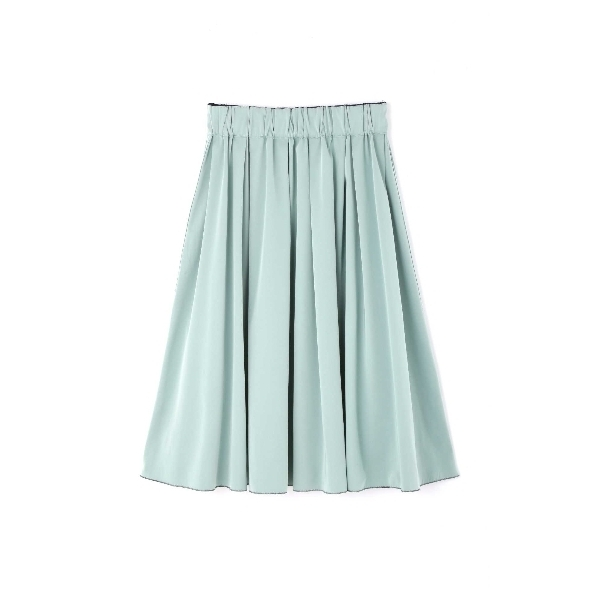 〈洗える〉リバーシブル2WAYスプリングカラースカート