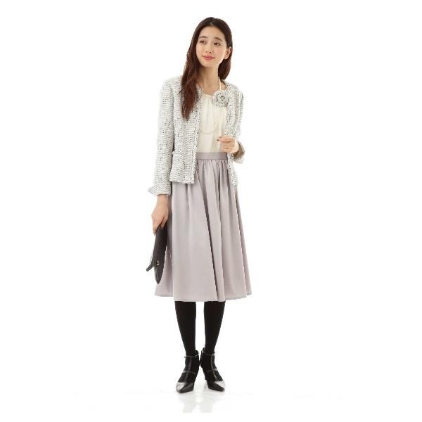 トリアセエンボススカート