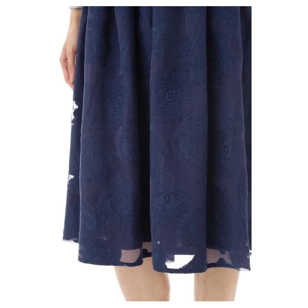ペイズリージャガードスカート