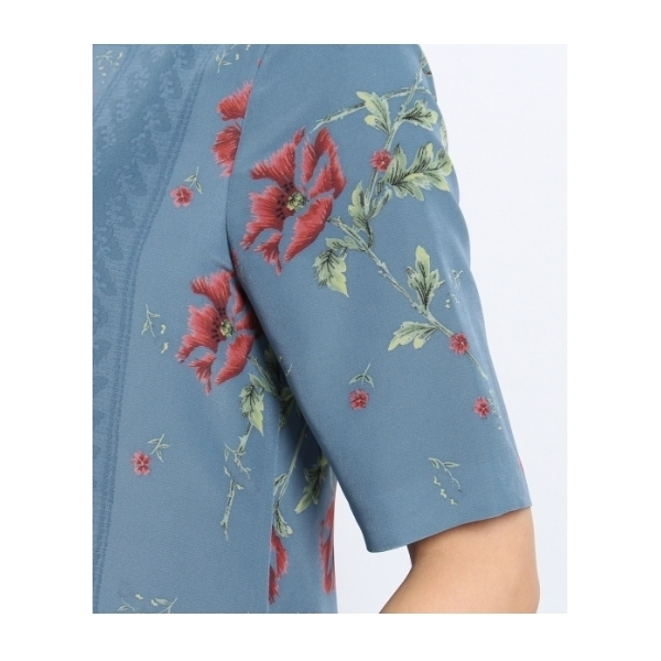 【洗える】ヴィンテージクロスチャイナドレス
