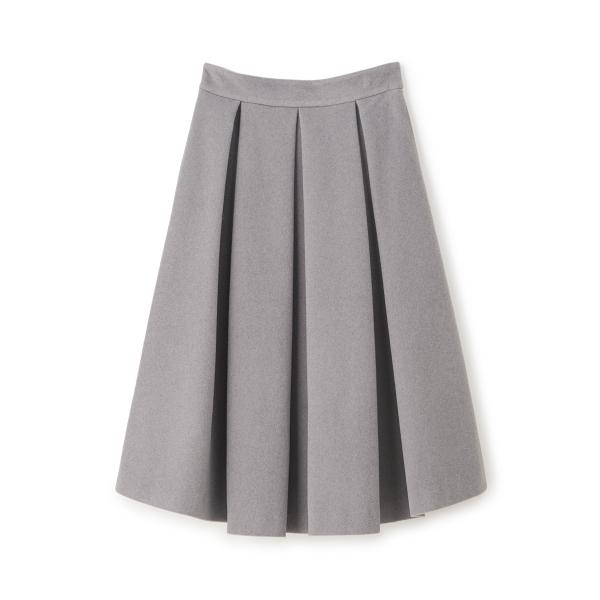 ボリュームカラースカート