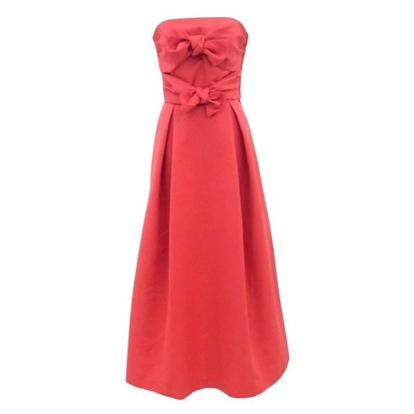 ベアリボンロングドレス