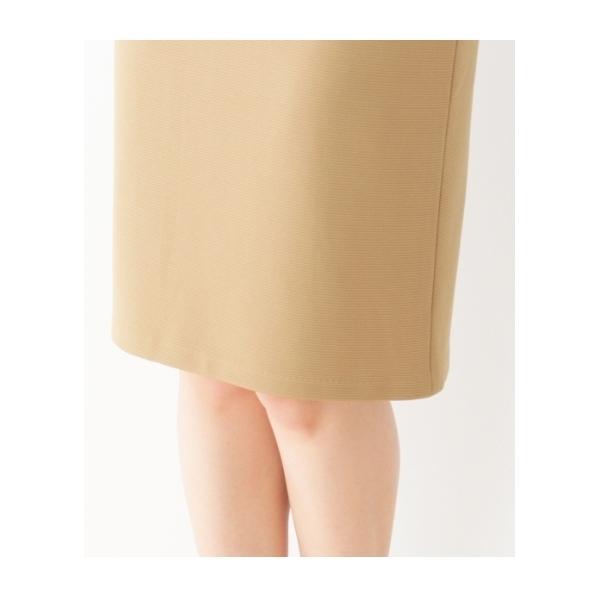 リップルストレッチタイトスカート