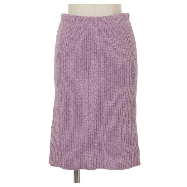 モールヤーンニットスカート