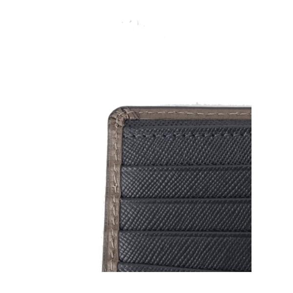 フランジ2つ折り財布