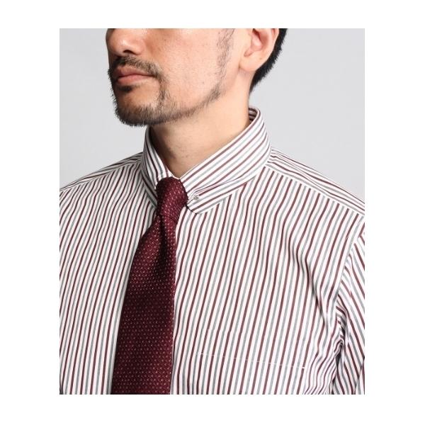 [Product Notes Japan]ストライプピンホールカラーシャツ