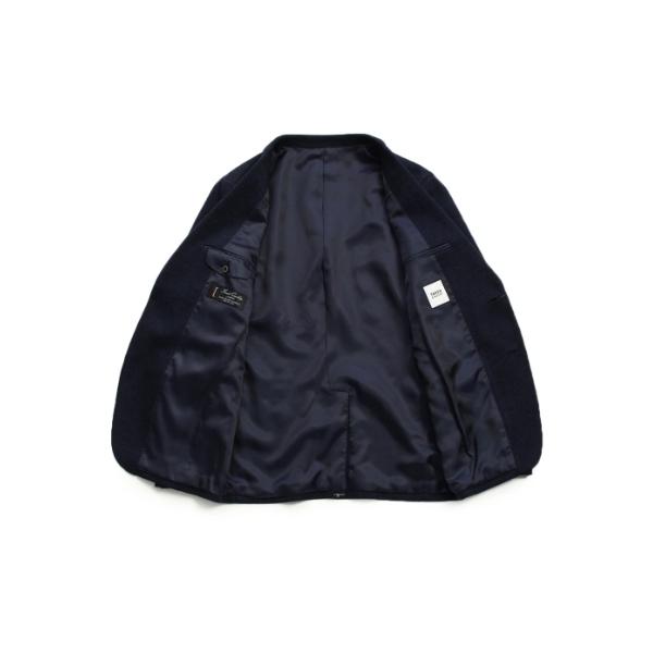 [TALL&LARGEサイズ]メランジ千鳥ジャージジャケット