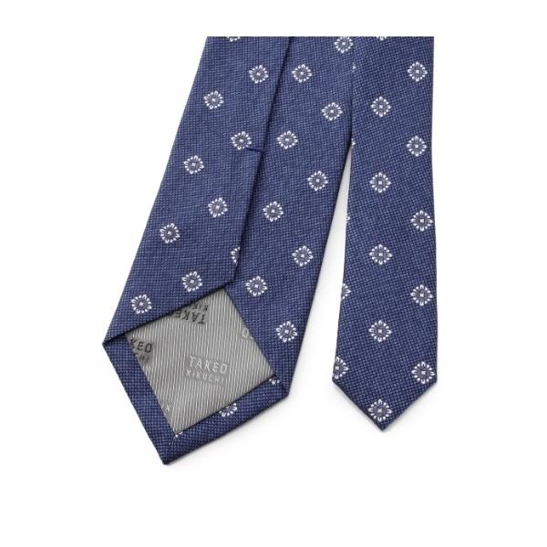 6色メランジフラワー小紋ネクタイ