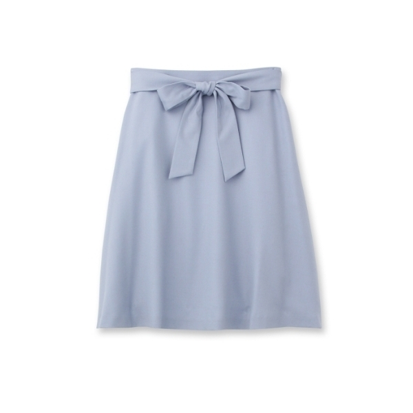 ひざ丈Aラインスカート