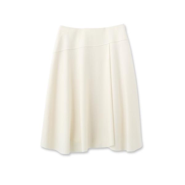 [L]ウールジャージスカート