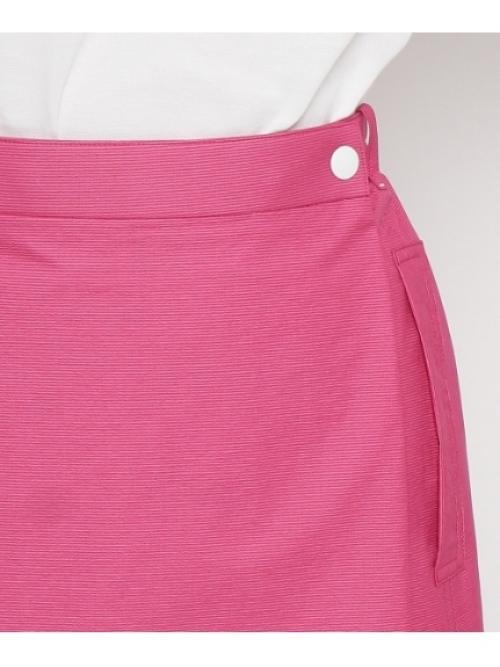 リバーシブルラップスカート