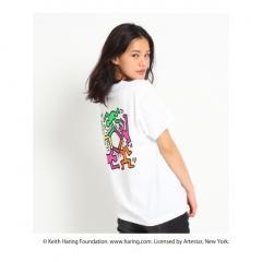 【別注】Keith Haring バックイラストTシャツ