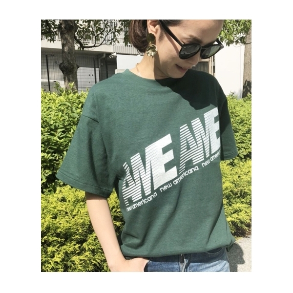 d941777c9bb98 LOHACO - Americana ビッグシルエットロゴTシャツ (Tシャツ) FASHIONWALKER