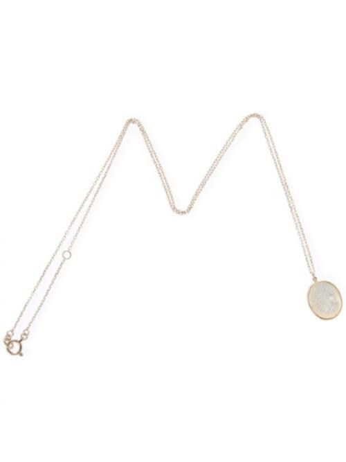 カメオ(白蝶貝) ネックレス