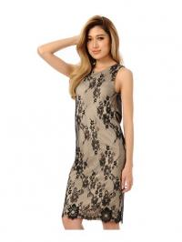 Back Slit Lace Dress