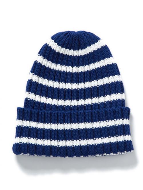 <ロハコ>ボーダーニット帽
