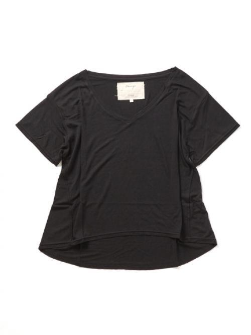 テンセルカシミヤワイドTシャツ