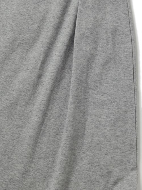 カシミヤ裏毛ロングスカート
