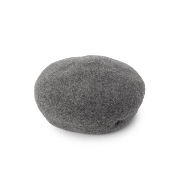 フェルト調ベレー帽