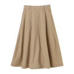 ・台形マキシスカート