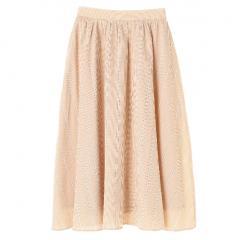ドビーストライプチェック柄スカート