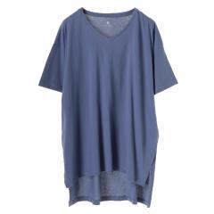 5分袖ビッグTシャツ