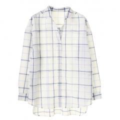・マドラスチェックシャツ
