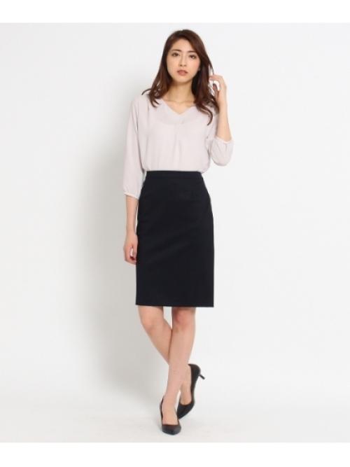 グログランタイトスカート
